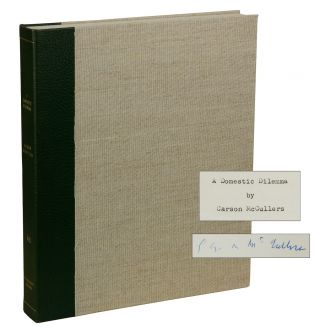 "Original Typescript for ""A Domestic Dilemma"" Carson McCullers"