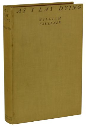 As I Lay Dying. William Faulkner