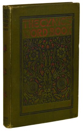 The Cynic's Word Book [The Devil's Dictionary]. Ambrose Bierce