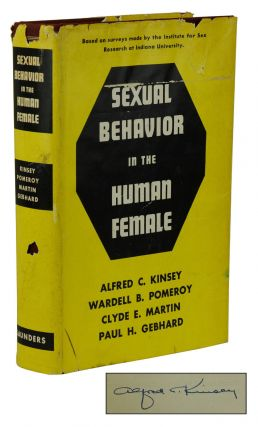 Sexual Behavior in the Human Female. Alfred Kinsey