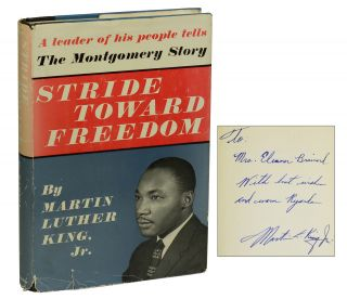 Stride Toward Freedom: The Montgomery Story. Jr. Martin Luther King.