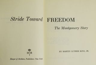 Stride Toward Freedom: The Montgomery Story