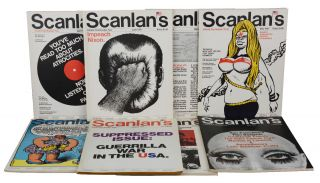 Scanlan's Monthly (Complete Run, Issues 1-8). Warren Hinckle, SIdney E. Zion, Hunter S. Thompson,...