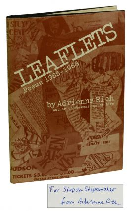 Leaflets: Poems 1965-1968. Adrienne Rich