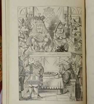 Alice's Adventures in Wonderland & Through the Looking-Glass and What Alice Found There (Bound by Sangorski and Sutcliffe)