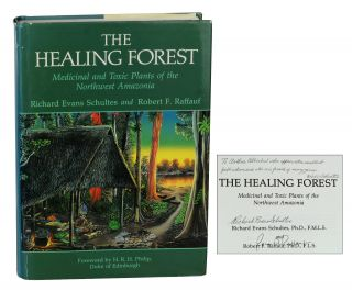 The Healing Forest: Medicinal and Toxic Plants of the Northwest Amazonia. Richard Schultes,...