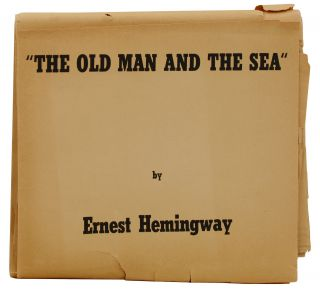 The Old Man and the Sea (Advance Galley Proofs). Ernest Hemingway.